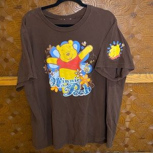 Winnie the Pooh Vintage Cartoon Shirt y2K